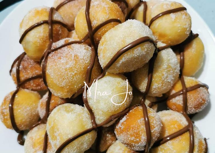 Resepi:  Donut Ball  Enak