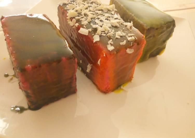 Recipe of Award-winning Vanilla sponge Cake slides