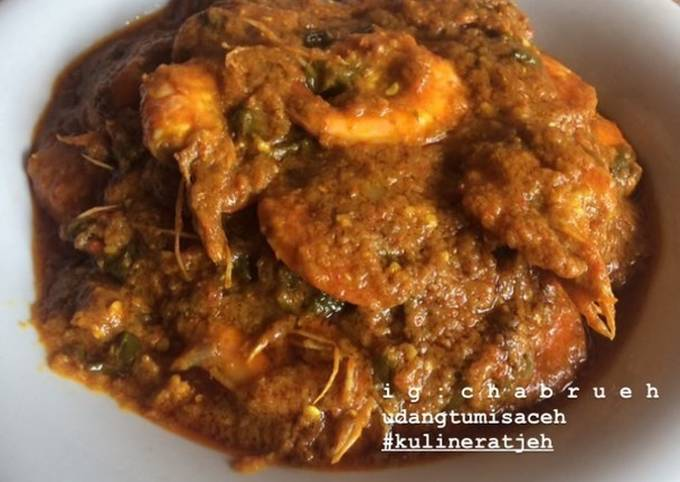 Udang Tumis Aceh