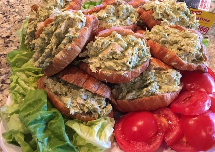 Recipe: Appetizing Easy Avocado Chicken Salad