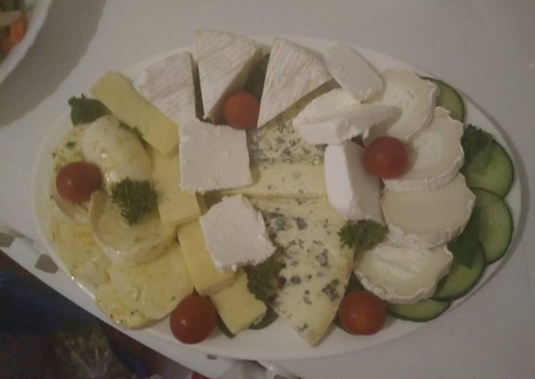 Recette: Savoureux Plateau de fromages