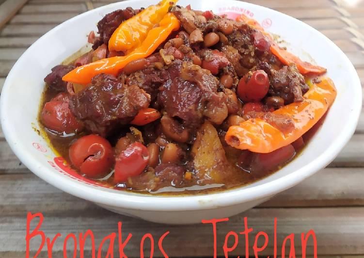 Resep Brongkos Tetelan Oleh Mbakyu Echa Cookpad
