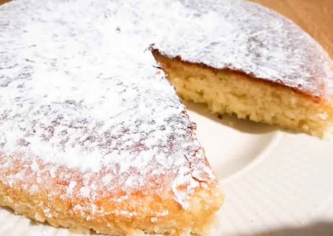Gâteau au yaourt sans œufs