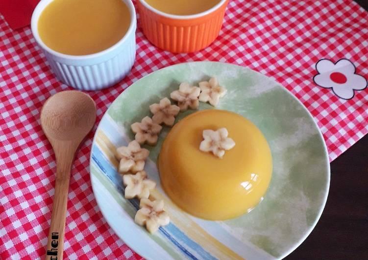 Pumpkin pudding(puding labu