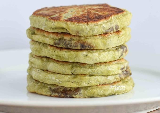 Matcha Hotteok [Green Tea Pancake]