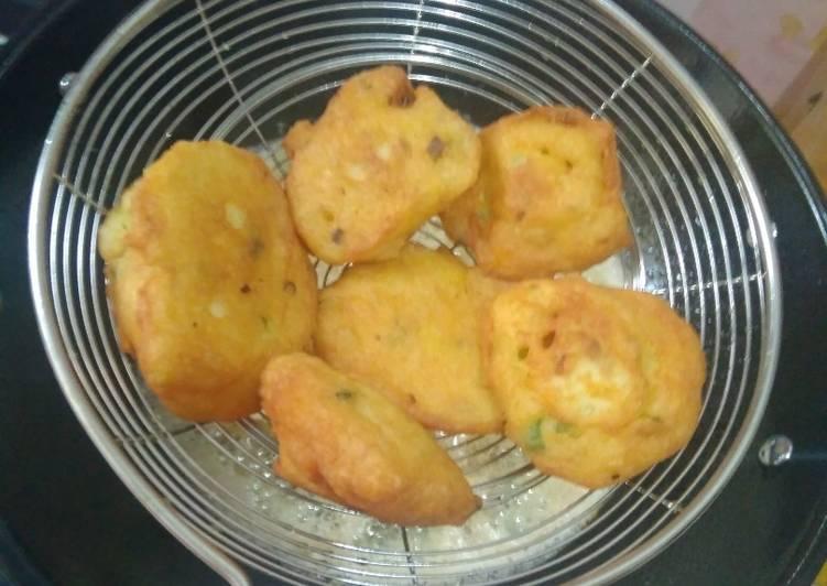 Perkedel kentang empuk untuk balita