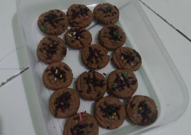 Cookies coklat teflon simpel