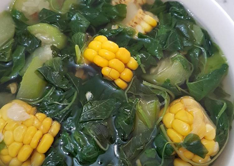 Spinach Sweet Corn Soup