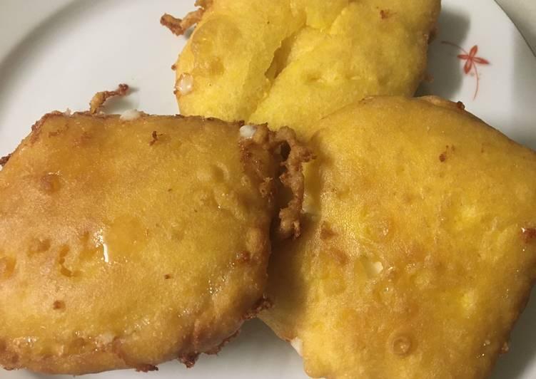 Il formaggio fritto