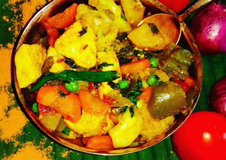 How to Make Favorite Mixed veg curry