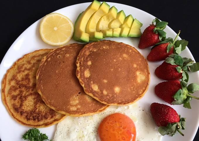 Healthy Breakfast 🥞 🍳 🥑 🍓 🍋