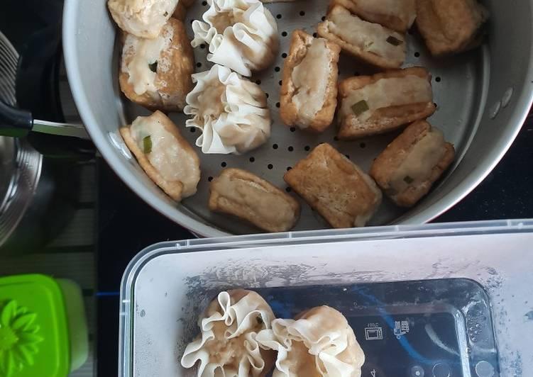 Siomay ayam/tahu bakso/pangsit