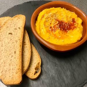 Hummus de zanahoria ?