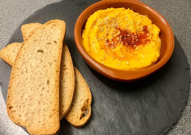 Hummus de zanahoria 🥕