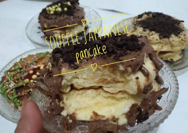 Souffle jappanese pancake