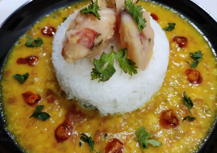 Going Green for Greater Health By Consuming Superfoods, One pot meal Dal chawal choka