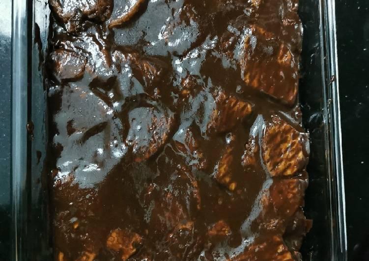 Resepi:  Kek Batik Munif Cocoa 🤗  Enak