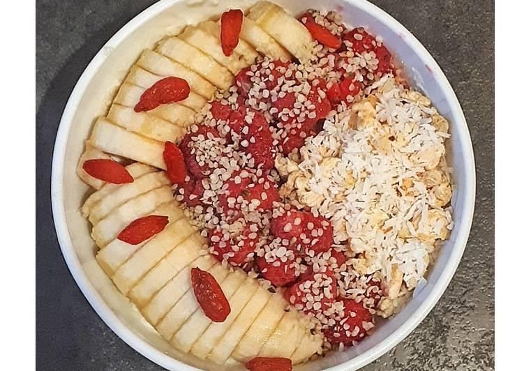 Banana rasp's bowl