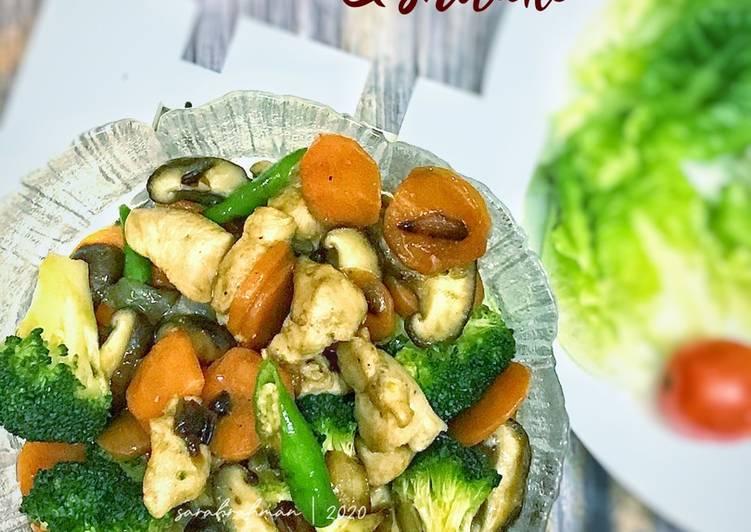 Ayam Brokoli & Shitake