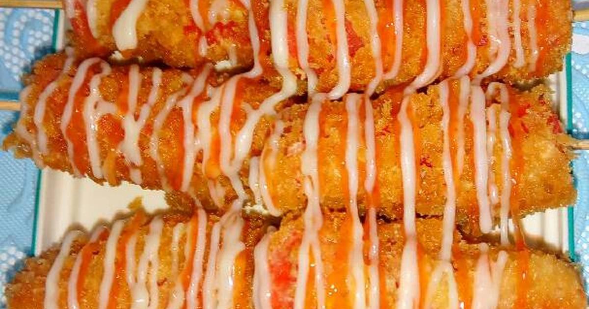 2 962 Resep Sosis Krispy Enak Garing Dan Mudah Enak Dan Sederhana Ala Rumahan Cookpad