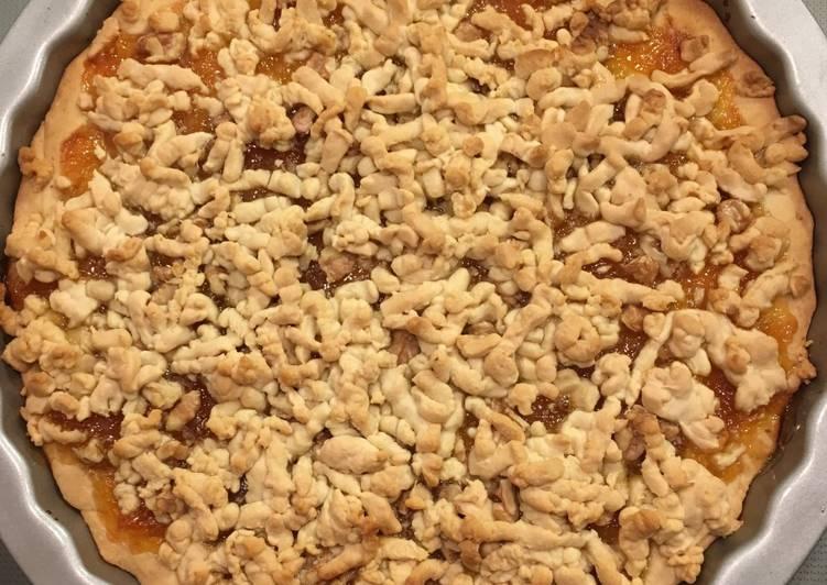 Façon la plus simple Faire Appétissant Tarte à la confiture d'abricots
