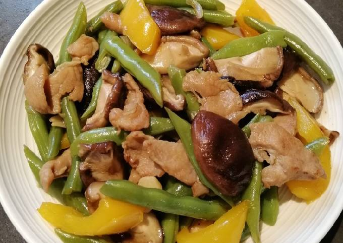 Simple Way to Make Award-winning French Beans Mix
