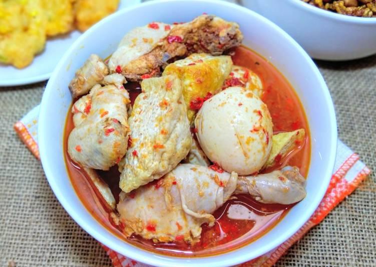 Ayam Tahu Telur Bumbu Bali