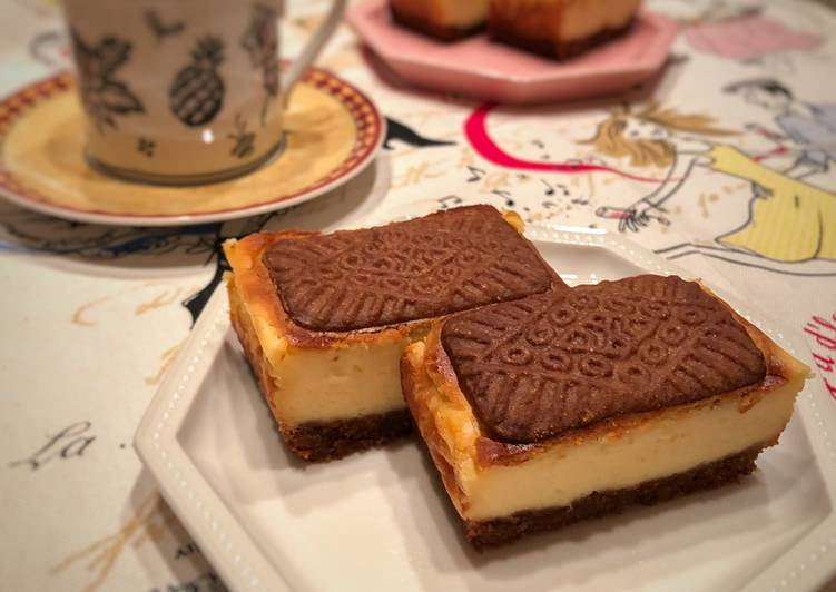 Japanese Style Biscoff Cheesecake