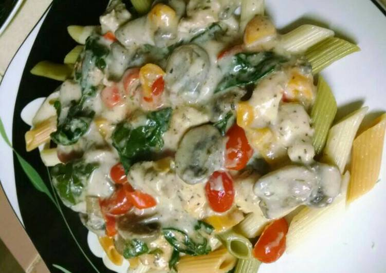 Step-by-Step Guide to Make Quick Chicken Vegetable Alfredo