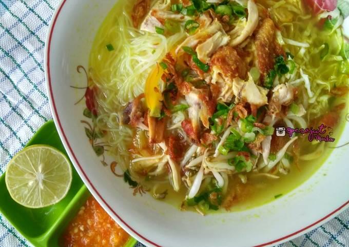 Resep Soto Ayam kuah Bening Segar Ringan