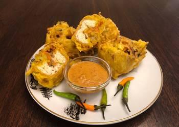 Easiest Way to Recipe Yummy Indonesian Deep Fried Stuffed Tofu Tahu Isi