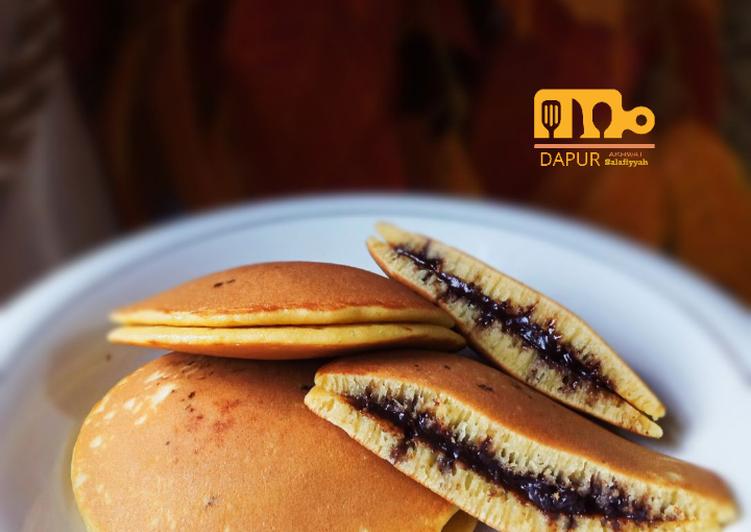 Resep 6. DORAYAKI 🥞 (Pancake ala Jepang) Top