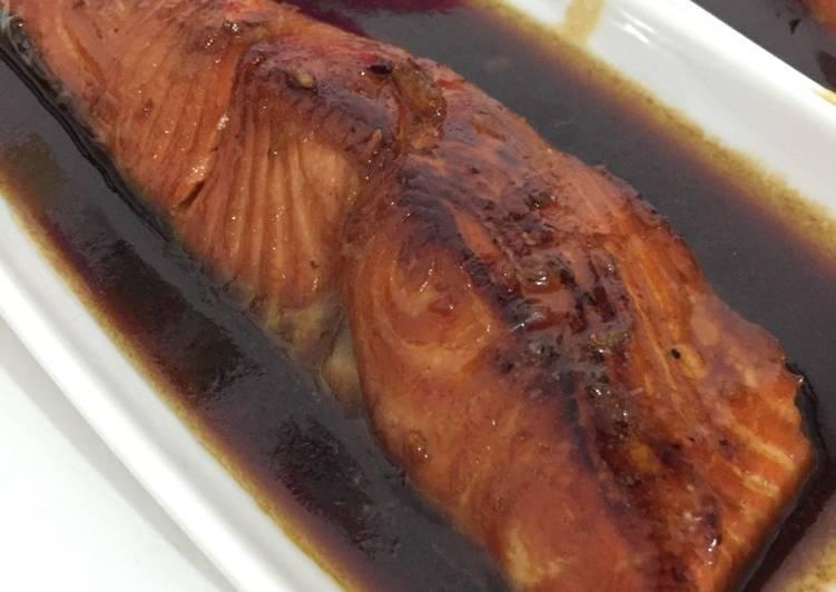 #6 Salmon teriyaki