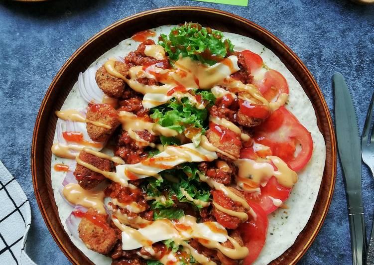 Chicken Wrap #western #phopbylinimohd - velavinkabakery.com