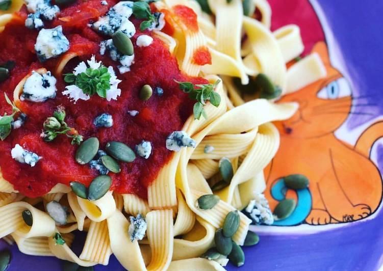 salsa calabaza para pasta thermomix