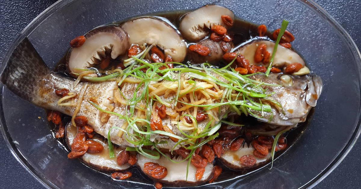 Resep Kerapu Stim ala Hong Kong oleh Febryani Chourmain - Cookpad