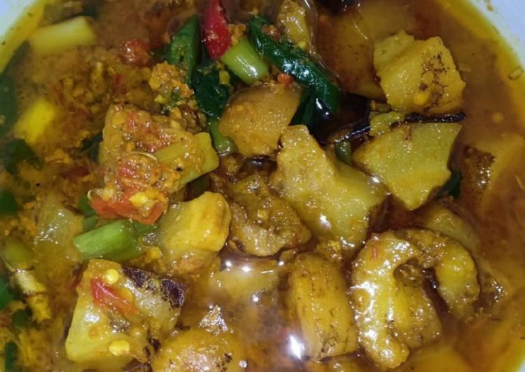 Kuning Kikil Sapi Cabe Hijau - cookandrecipe.com