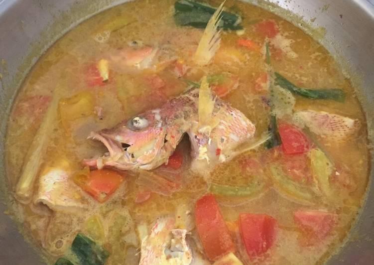 Ikan Kuah Asam (Ikan Palumara)