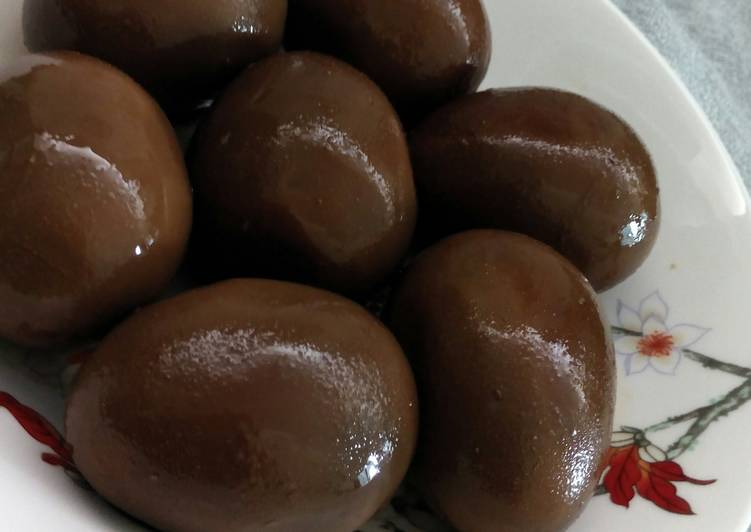 resep telur bacem oleh tika maryono