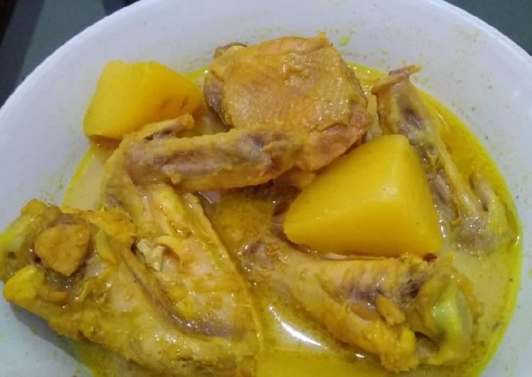 Masak kare ayam enak simpel(untuk LEBARAN)