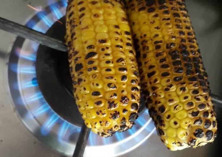 How to Make Perfect Charred Corn