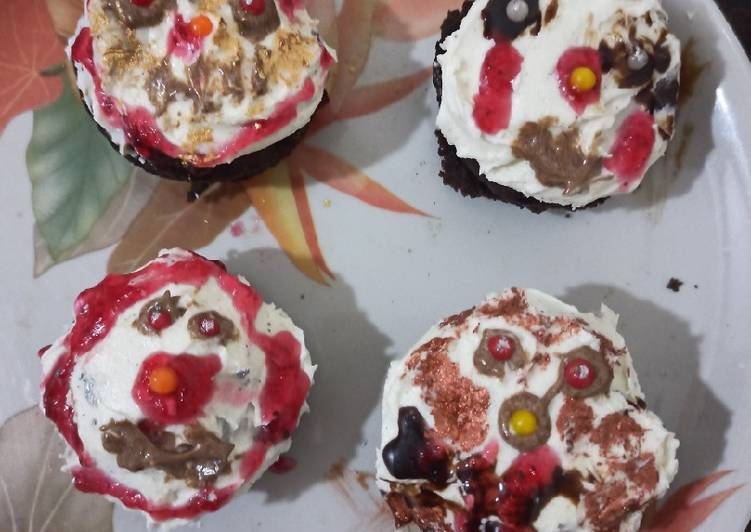 Spooky halloween Cupcake