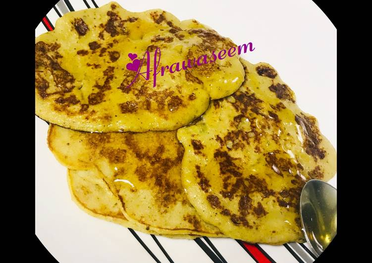 Step-by-Step Guide to Make Award-winning Oats pancakes with dash of cinnamon