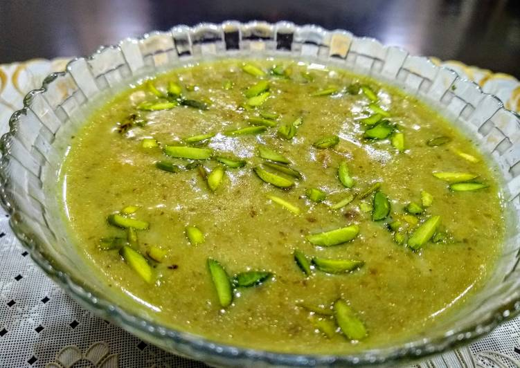 Green Moong Dal KHEER