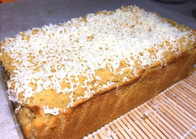 Bolu Pisang Cavendish (less sugar, no essense, no chemical added, no preservatives)