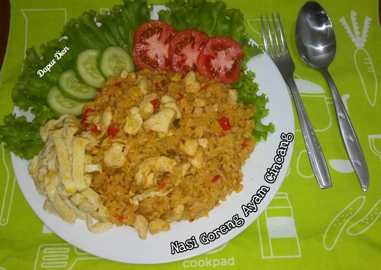 Nasi Goreng Ayam Cincang