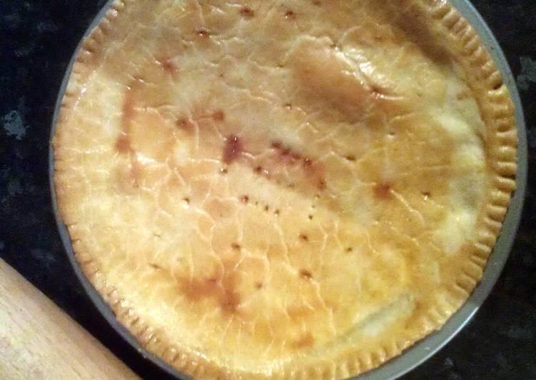 sausage and tomato pie