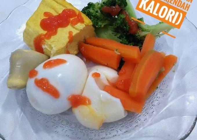 127) menu sarapan sehat(rendah kalori)