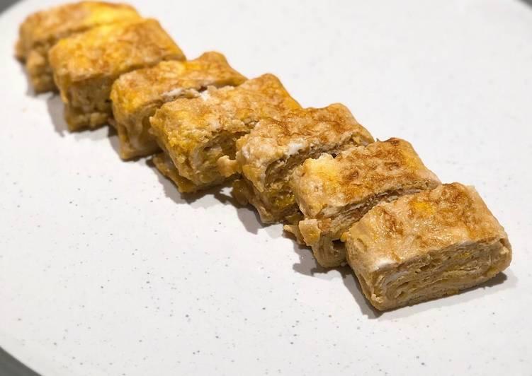 Recipe: Yummy Tamagoyaki Japanese Omelette