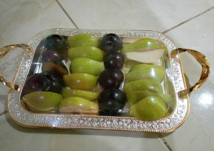 Easiest Way to Prepare Homemade English pear×plum friut